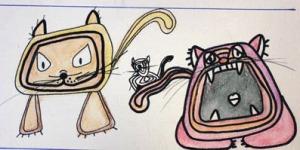 tres gatos_2010