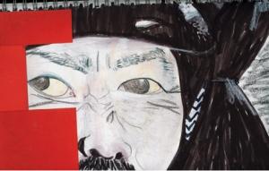 samurai_dibujo serie1_2006