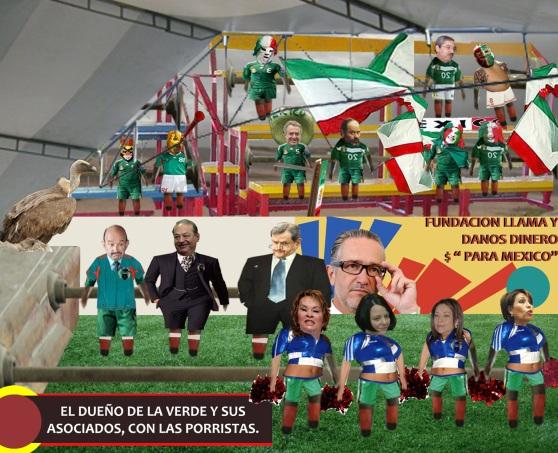 selección nacional_futbolito llanero_DUEÑO del TRI con PORRA_20nov09