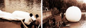 sueño de una tarde sabatina_lago de Chapultepec_2000