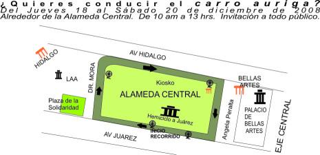 AURIGA_mapa recorrido_dic 2008
