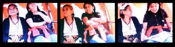 la abuelita y su nieta_tripulantes_Auriga 2008_Alameda Central