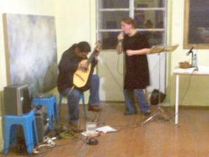 sesion de canto