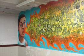 pared del fuego